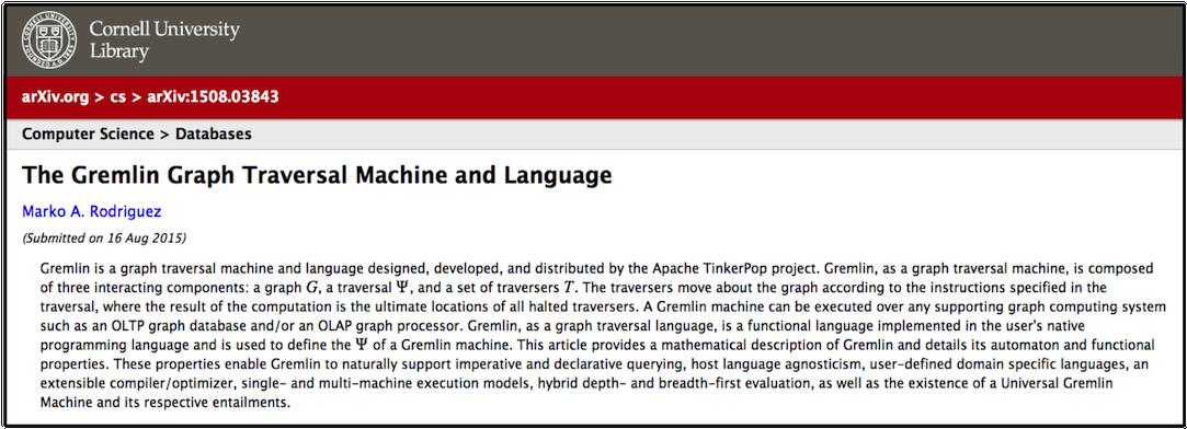 Apache TinkerPop